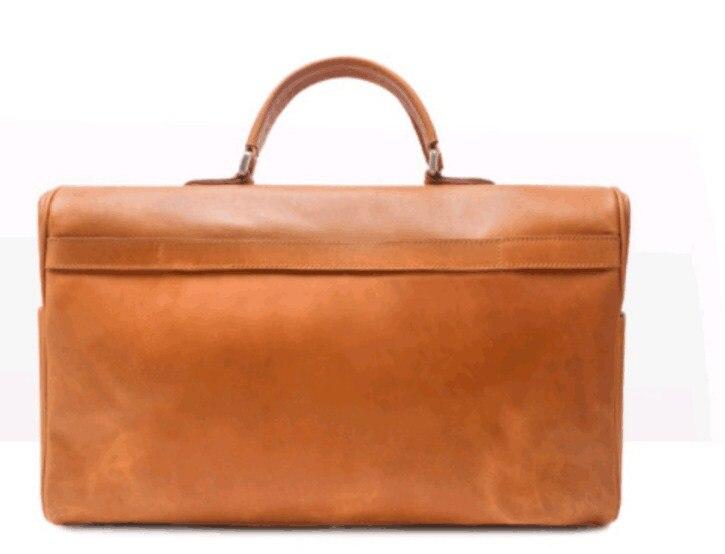 2019 정품 가죽 암소 피부 대용량 남성 여행 더플 백의 새로운 기능-에서여행 가방부터 수화물 & 가방 의  그룹 2