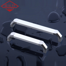 AOBITE Silver Chrome 128mm 96mm Kitchen Cabinet Handles Door Handle Wardrobe Cupboard Drawer Pulls Furniture Hardware