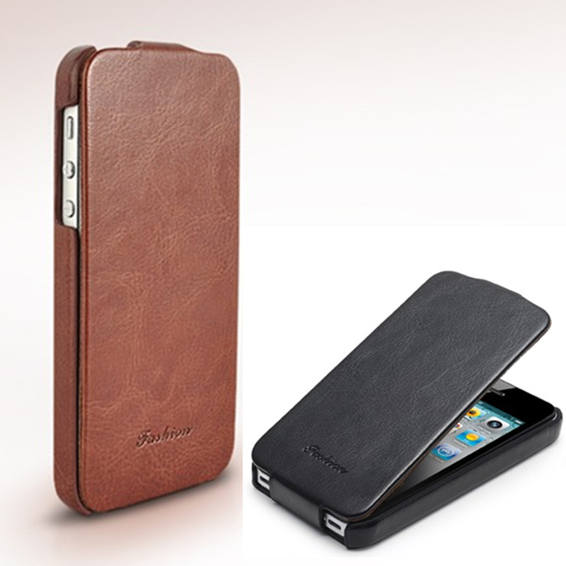 super popular ef8cc 9d58f US $7.59 5% OFF|5s for Apple iPhone 5 5s Case Flip Up Down Style Fixed type  Leather Flip Ultra thin Cover Protect Cases black iPhone5 iPhone5s-in Flip  ...