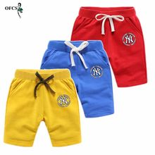 Summer Children Shorts Cotton Loose Trousers Boys Girls Brand Shorts Toddler Panties Kids Beach Short Sports Pants Baby Clothing(China)