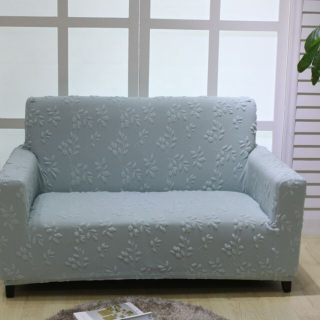 Solid Color Elastic Sofa Cover Pattern Polyester Waterproof For Sectional Slipcover Couch