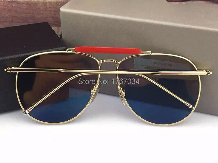 a053625f5bc 2015 New Sunglasses Women Brand Designer glasses TB 015 011 fashion  Sunglasses Thom Browne tb 015 sun glasses with original box-in Sunglasses  from Apparel ...