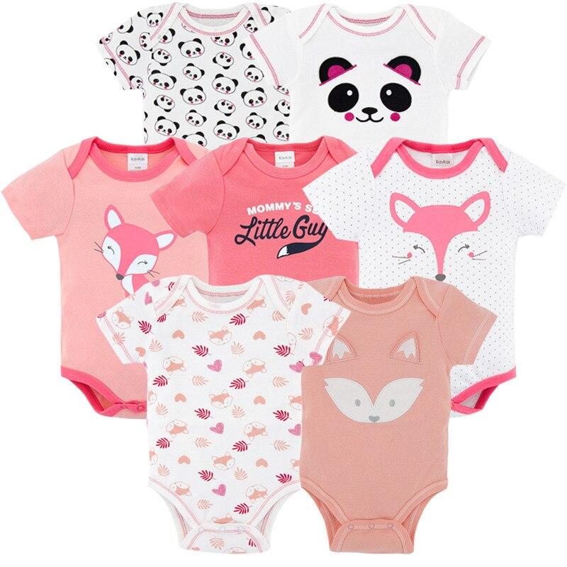 märken ny sommar 2018 7PCS   lot baby flicka roupas de bebe recien ... 9ef9d26a4a46a