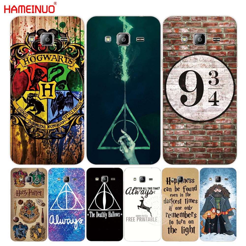 HAMEINUO harry potter howgwarts always slytherin cover phone case for  Samsung Galaxy J1 J2 J3 J5 J7 MINI ACE 2016 2015 j120