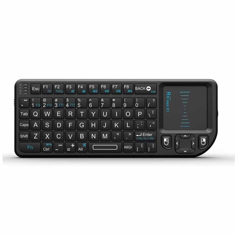 Rii Mini Wireless Keyboard Air Mouse Keyboards 2 4G Handheld