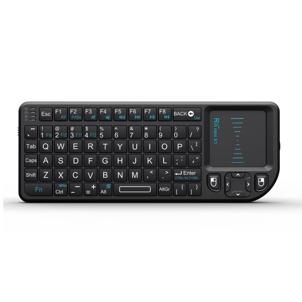 все цены на Rii Mini Wireless Keyboard Air Mouse Keyboards 2.4G Handheld Touchpad Gaming Keyboard For Phone Smart Tv Box Android Smartphones онлайн