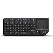 Rii Mini kablosuz klavye hava fare klavye 2.4G el Touchpad oyun klavyesi telefon için akıllı Tv kutusu Android akıllı telefonlar