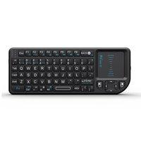 Rii mini teclado sem fio teclado do rato de ar teclados 2.4g handheld touchpad gaming teclado para telefone smart tv caixa smartphones android