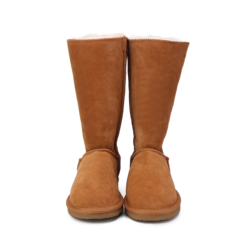 7f4d4820dde5 MBR FORCE 2018 Fashion Women Long Boots Genuine cow Leather Snow Boots  Bowknot Snow Boots Warm High Winter Boots US 3 13-in Knee-High Boots from  Shoes on ...