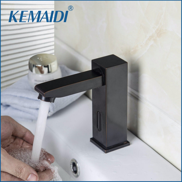 KEMAIDI ORB Hot And Cold Automatic Hands Touch Free Sensor Faucet ...