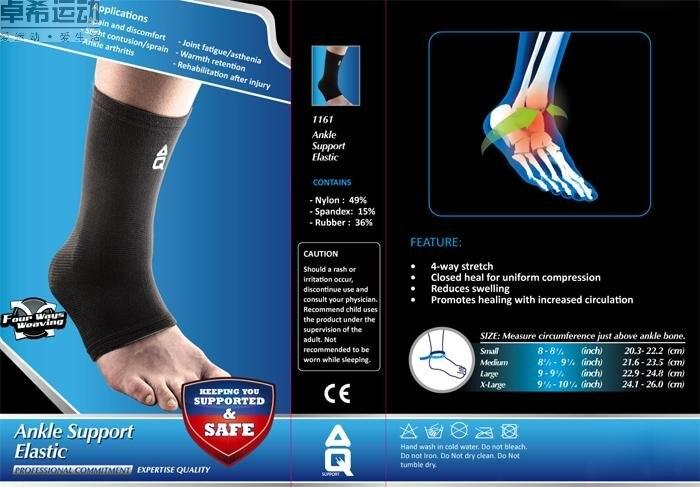 futebol suporte do Tornozelo esportes apoio protetor tornozelo cinta elástica