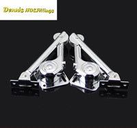 4PCS 2L 2R Lift Up Door Flap Stay Mechanism Stay Soft Down Stay Lid Stay Hydraulic