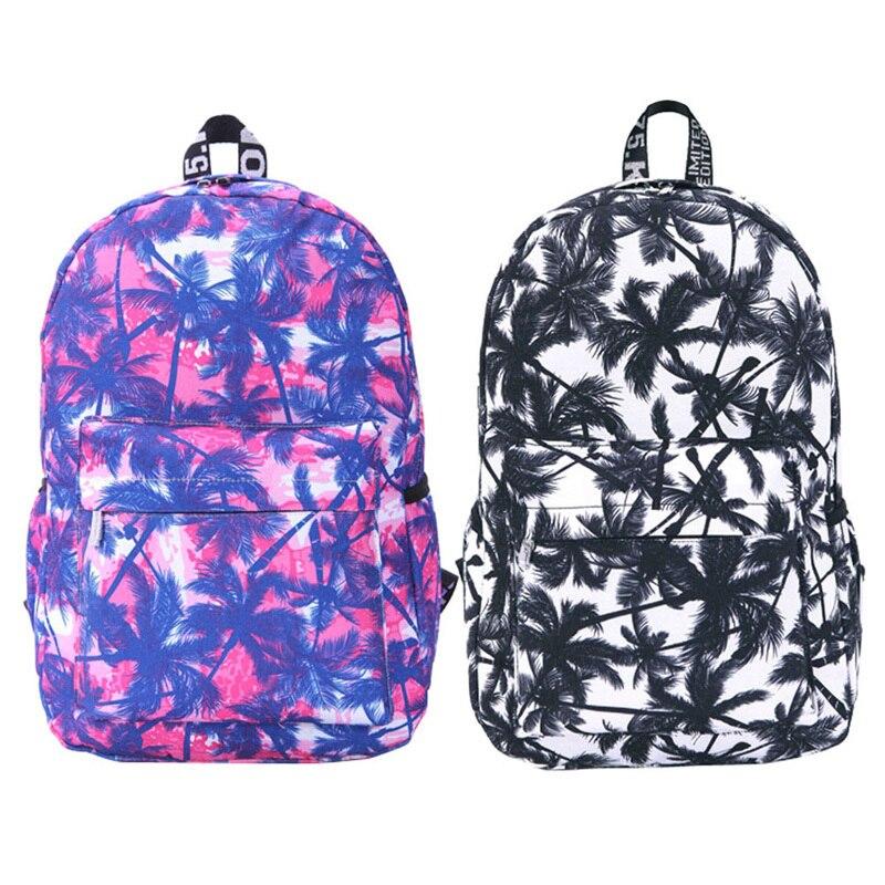 6bef4a8118374 Kadın Tuval Sırt Çantası Genç Kızlar için Moda Graffiti Omuz Okul Çantası  Sırt Çantaları Seyahat Sırt Çantaları Bolsa Feminina