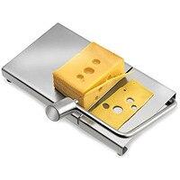Behokic Fatiador de Queijo Manteiga Cortador Lâmina de Faca Placa de Tomada De Fio de Aço Inoxidável Sobremesa Coza Cozinhar Ferramenta Acessórios de Cozinha|cheese slicer|butter cutter|butter cutter wire -