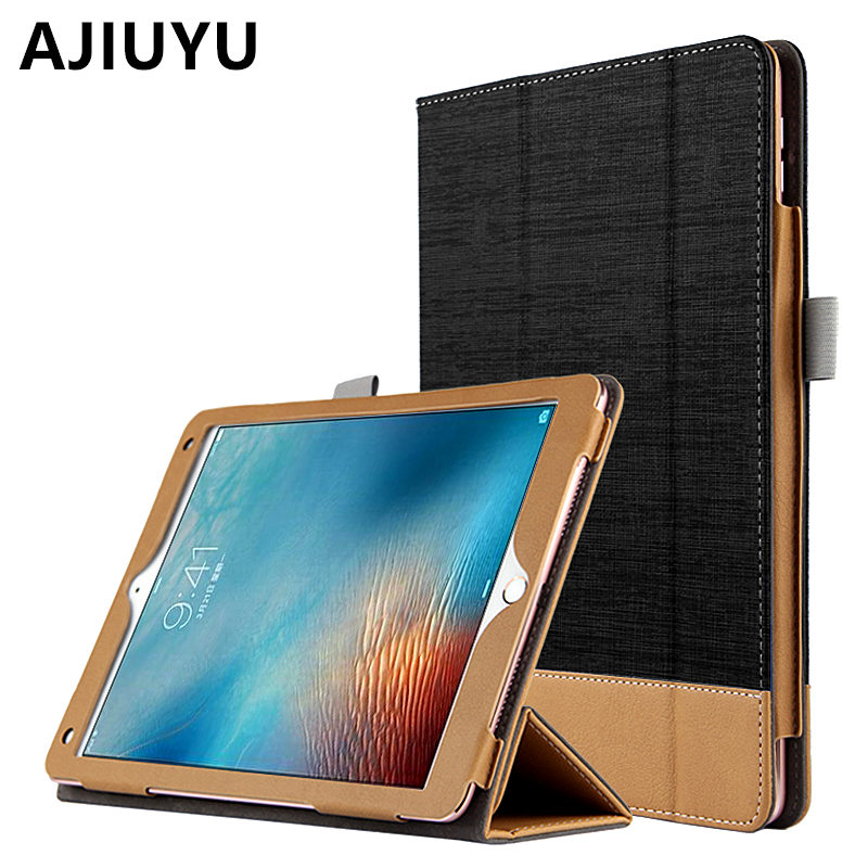 AJIUYU Case For iPad Pro 9.7 inch Cases Covers Protective Leather Smart Cover Protector Tablet For Apple iPadPro9.7 TPU Sleeve drop shock proof eva smart cover for apple ipad pro 9 7 inch cases kids children safe silicon for ipad pro 9 7 protective case