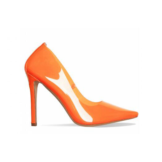 Heels Women Shoes Clear Pointed Toe