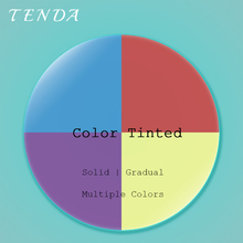 Tinted Solid or Gradual Multiple Colors For Prescription Lenses Sunglasses Lenses