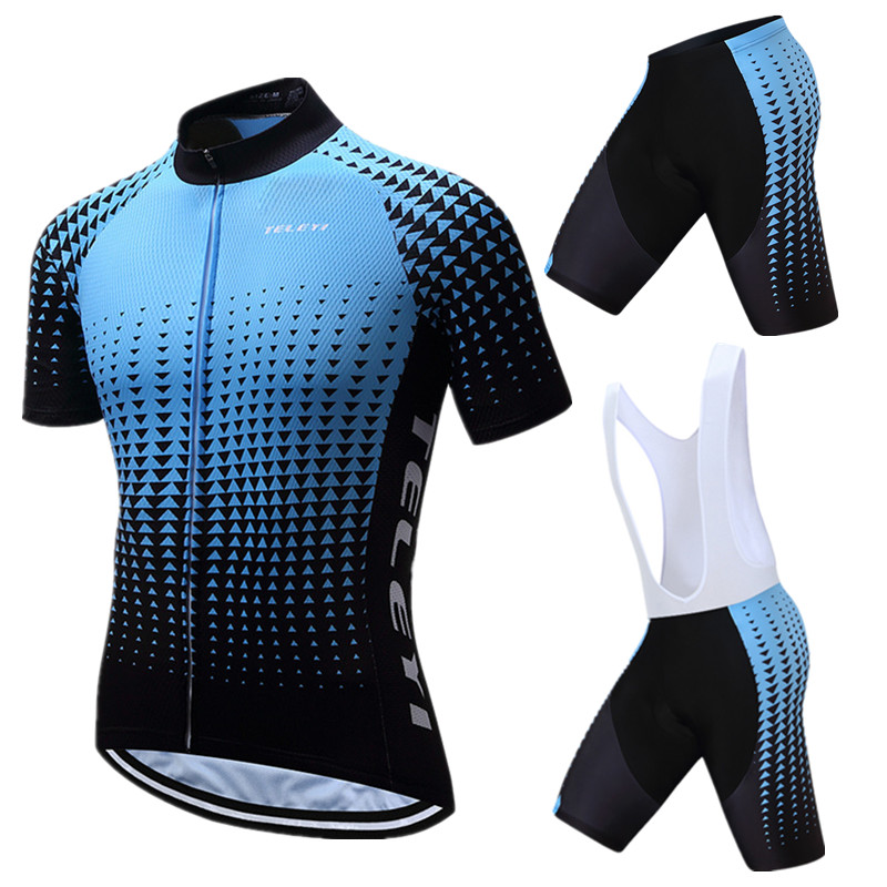 Weimostar cyclisme Jersey ensemble hommes 2019 Pro équipe cyclisme vêtements été uniforme vélo vêtements séchage rapide vtt vélo Jersey costume
