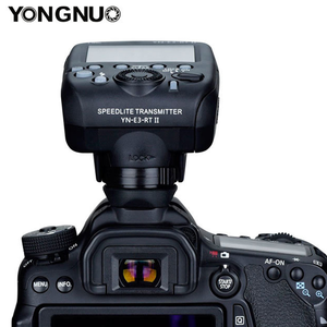 Image 4 - YONGNUO YN E3 RT II פלאש TTL רדיו טריגר Speedlite משדר כמו ST E3 RT עבור Canon 600EX RT YONGNUO YN600EX RT