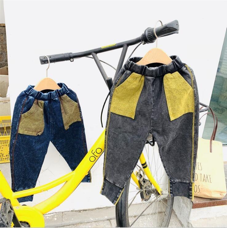 Jeans 2019 Neue Großhandel Mädchen Jungen Denim Hosen Frühling Mode Kinder Jean Hosen 3-8 T Hi115 Kataloge Werden Auf Anfrage Verschickt
