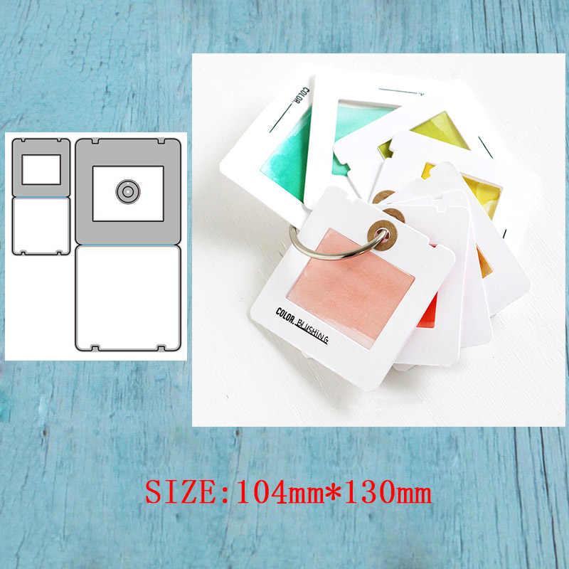 LLove CCraft квадратный Бланк металла резка умирает для DIY Скрапбукинг альбом бумажные карточки декоративные ремесла штамп для теснения с вырезами
