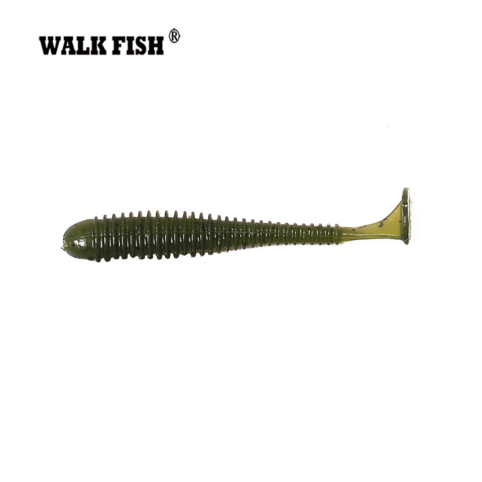 Walk Fish 6Pcs/Lot 7.2cm 2g Wobblers Fishing Lures Easy Shiner Swimbaits Silicone Soft Bait 10Color Artificial Soft Lure 1pc soft fishing lure 6 8cm 2 68 9 36g 0 33oz мягкая свинцовая приманка 8 high carbon hook 6 color silicon wobblers fishing sackle