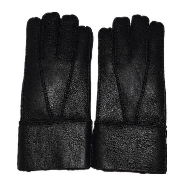 buy valpeak 2017 mens wool gloves winter warm hand sewn sheepskin gloves. Black Bedroom Furniture Sets. Home Design Ideas