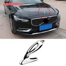 3D эмблема автомобиля Логотип передний капот орнамент крышка хромированный металл для Volvo XC60 XC90 S90 V90 аксессуары для стайлинга автомобилей