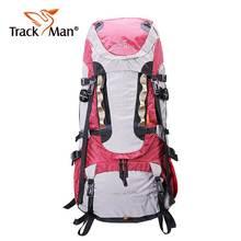 Trackman 65L Outdoor Backpack Travel Multi-purpose climbing backpacks Hiking big capacity Rucksacks camping Large sports bags
