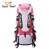 Trackman 65L Outdoor Backpack Travel Multi purpose climbing backpacks Hiking big capacity Rucksacks camping Large sports bags