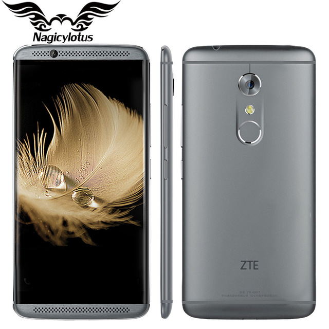 Original ZTE Axon 7 A2017 4G LTE Mobile Phone Snapdragon 820 Quad Core 2.15GHz 5.5inch 4/6GB RAM 64/128GB ROM 20.0MP Fingerprint