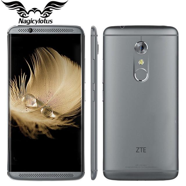 Original ZTE Axon 7 A2017 4G LTE Mobile Phone Snapdragon 820 Quad Core 2.15GHz 5.5inch 4/6GB RAM 64/128GB ROM 20.0MP Fingerprint