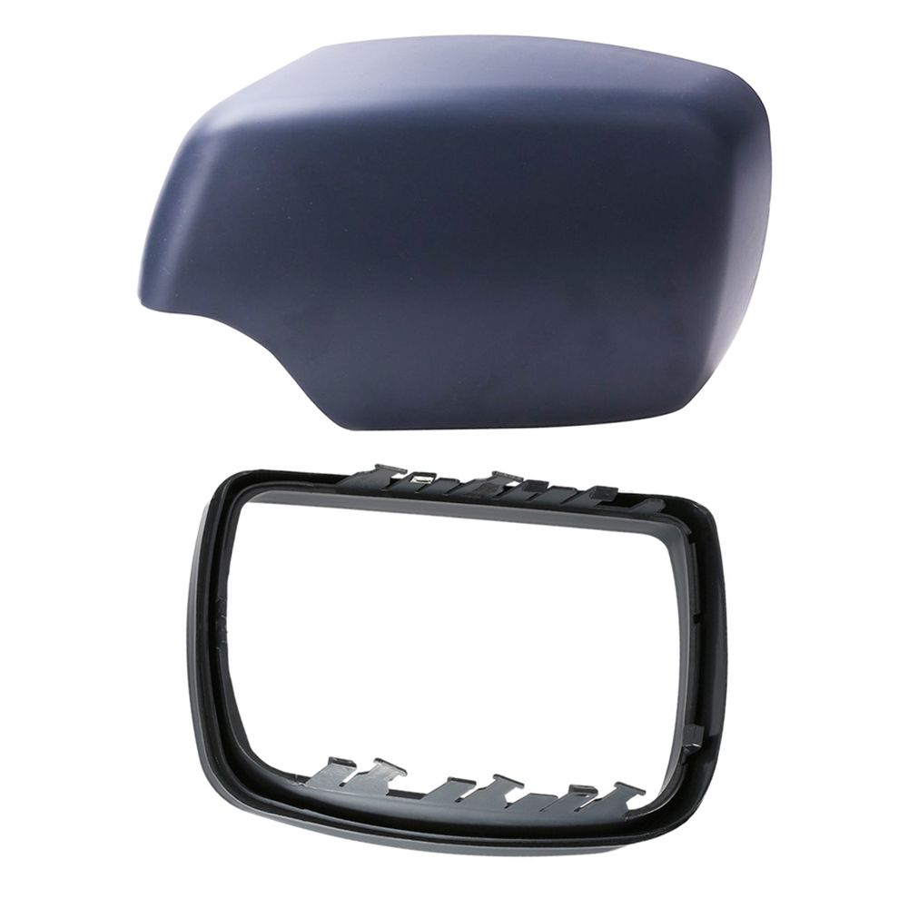Right Side Mirror Cover Cap /& Trim Ring Fit for BMW E53 X5 2000-2006 51168256322
