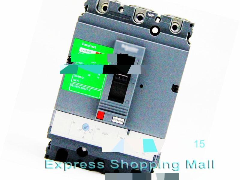 NEW CVS100F 3P 100A LV510307 EasyPact Moulded Case circuit break-er люстра linvel lv 9053 3 white