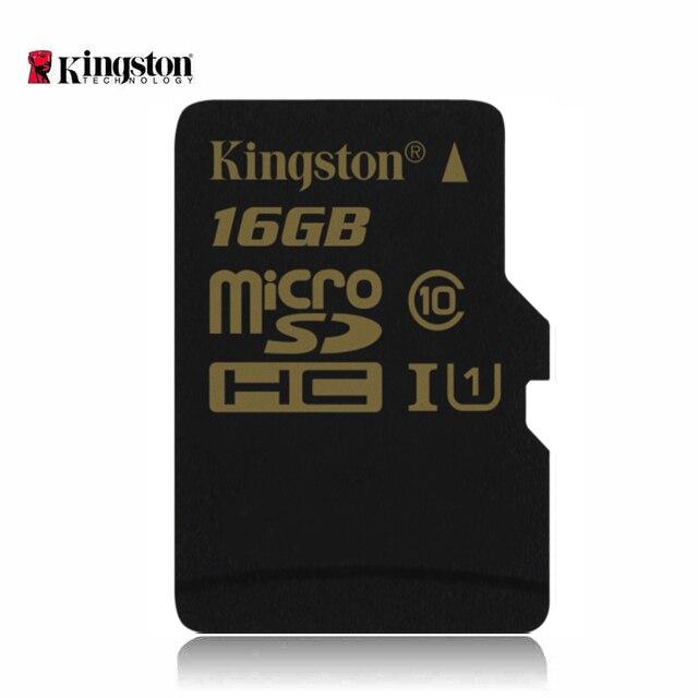 Kingston Class 10 mini card micro sd sdhc microsd карты sd card 16 ГБ memoria карты горячие продажи