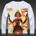 Anime Kabaneri of the Iron Fortress T-shirts Wumei Print Long Sleeve Full T Shirt Tops Autumn Tees Clothes