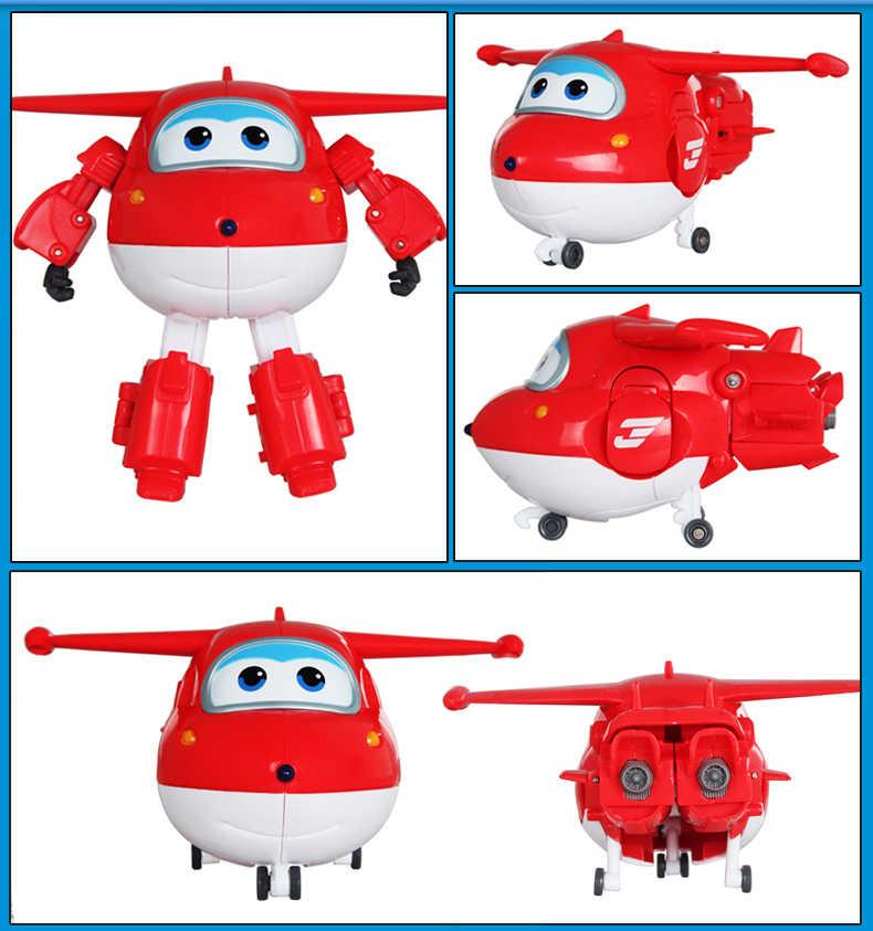 Grande!!! Super Ali Jet Deformazione Robot Aereo Action Figures Super Ala Trasformazione giocattoli per il regalo dei bambini Brinquedos