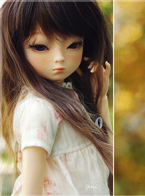 HeHeBJD 1/4 Girl Dami bjd (open eyes or ELF eyes)  beautiful girls for sale free shipping 2