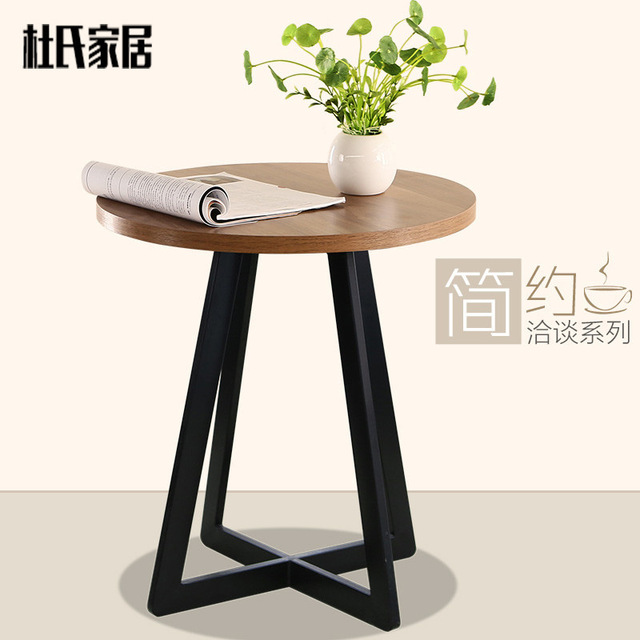 Superieur Creative Furniture, Wrought Iron Coffee Tables Leisure Small Round Table To  Discuss The Balcony Simple Wood Side Tables Living R