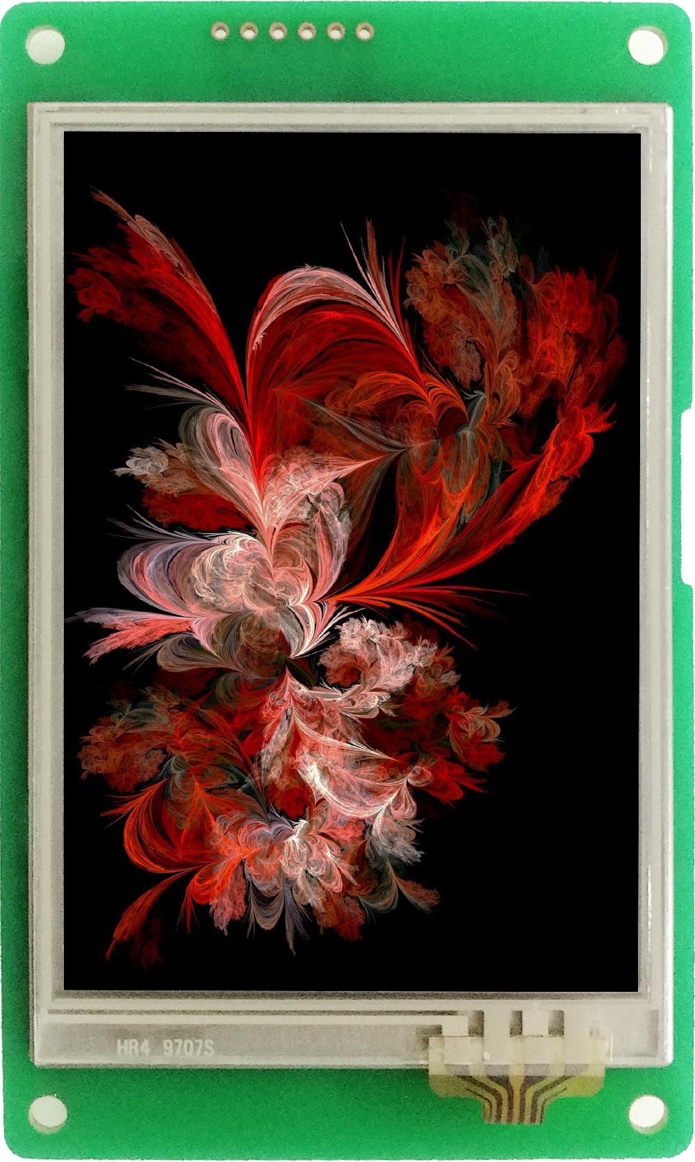 DMT48320C035_06W  3.5 Inch DWIN Serial Screen DGUS II Smart Screen No Tuch Screen