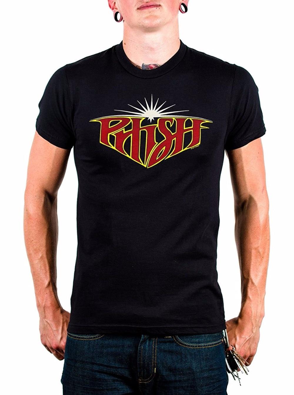 2018 New Arrival Mens Fashion Silk Road Tees Gift Funny DoctorNaruto Buffy Merchandising Phish Starburst T-shirt