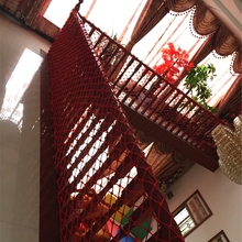 300cm*100cm Railing Stairs Balcony Child Safety Netting Protecting Net Baby Safety Fence Children Thickening Fencing Protect Net marine bulwark ladder safety net safety net nylon rope springboard balcony stairs safety net rope 4 6m