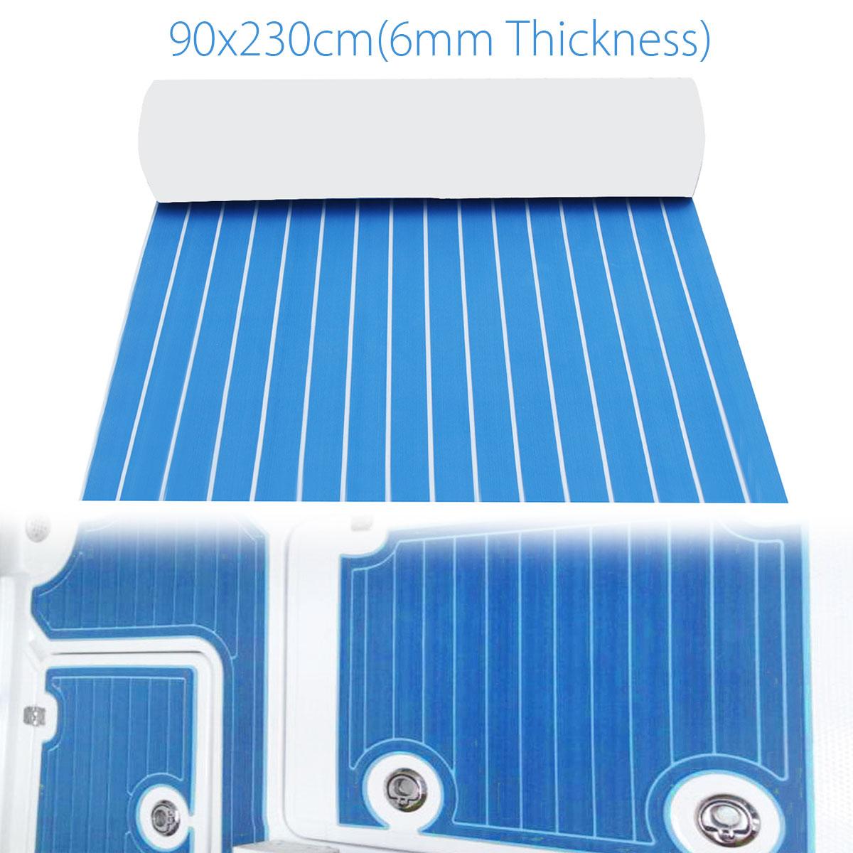 90x230 cm Autoadesiva EVA Schiuma Sintetica Foglio Barca RV Yacht Pavimentazione Decking Veicolo Ricreazionale Pavimento In Teak Sticker