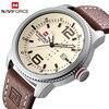 2017 NEW Luxury Brand NAVIFORCE Men Sport Watches Men S Quartz Clock Man Army Military Leather