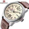 2017 NEW Luxury Brand NAVIFORCE Deporte de Los Hombres Relojes de Cuarzo Reloj de Pulsera de Cuero Reloj Hombre Militar Del Ejército de Los Hombres Relogio masculino