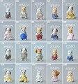 Atacado Japão original granéis sylvanian série 5 urso bonito Mole esquilo bonecos brinquedos para meninas presente collectible