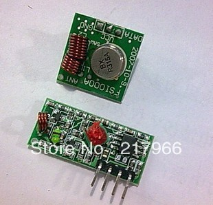 10PCS =5 pairs X RF wireless receiver module & transmitter module board Ordinary super- regeneration 315MHZ DC5V (ASK /OOK) ...