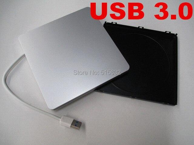 """Nuevo USB 3.0 Super velocidad delgado SLOT-IN serie USB incluido Case para Superdrive para Apple Macbook Pro unibody 13 """" HDD SSD"""