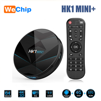 Wechip HK1 MINI+ Android 9.0 Smart TV BOX 4GB 64GB Amrogic RK3318 2.4G/5G WIFI H.265 HEVC 4K 3D Set Top Box Media Player