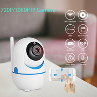 720P 1080P FHD Mini Indoor Portable Small Wireless Home Security WiFi IP Camera Surveillance Camera Night